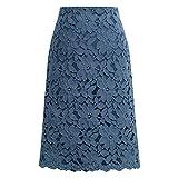 Faldas de mujer, caída / invierno más terciopelo, tamaño grande, falda de encaje delgada, falda de nicho a...