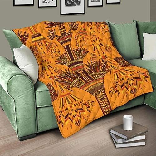 Flowerhome - Colcha egipcia para sofá o cama, 230 x 260 cm, color blanco