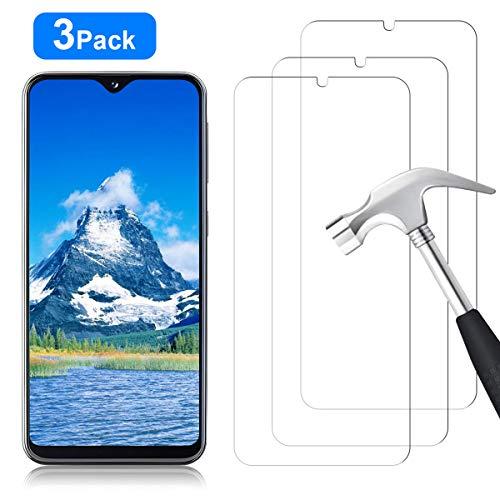 YIEASY 3 Piezas Protector de Pantalla para Samsung Galaxy A20E, Sin Burbujas [3D touch/9H Dureza] [Anti arañazos] [Fácil de Instalar] Cristal Vidrio Templado para Samsung Galaxy A20E - Transparente