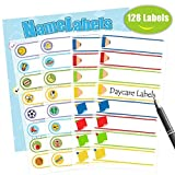 Baby Bottle Labels,Waterproof Stickers, Write-On Self-Laminating Name Labels for Daycare,School,Travel 128...