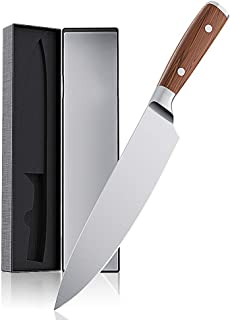 VersionTECH. Chef Knife, 8 inches Professional High Carbon Stainless Steel Sharp Kitchen Knives with Ergonomic Handle for Home Kitchen and Restaurant