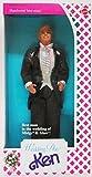 Wedding Day KEN Barbie Doll 1990, Best Man in the wedding of Midge & Alan! by Mattel
