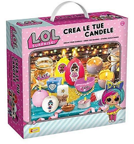 Lisciani Giochi – 77526 Spiel für Kinder LOL Surprise erstellen Sie Ihre Kerzen