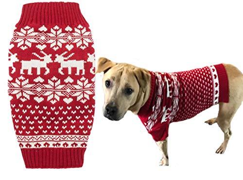 Lanyar Dog Reindeer Holiday Pet Clothes Sweater