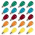 S14 Replacement Light Bulbs - 11 Watt Warm Incandescent Edison Light Bulbs with E26 Medium Base