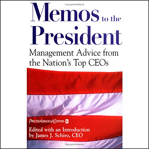 Memos to the President audiobook cover art