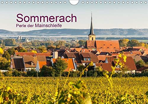 Sommerach - Perle der Mainschleife (Wandkalender 2020 DIN A4 quer): Sommerach in der Mainschleife - Mainfranken (Monatskalender, 14 Seiten ) (CALVENDO Orte)