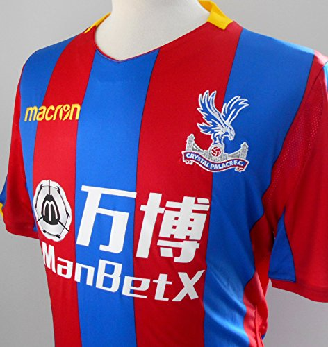 CPFC Crystal Palace FC Offizielles Herren-Shirt, Body-Fit 2017-2018 (EU-XXL (UK/US- XL))