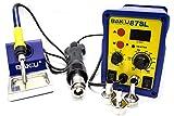 Infocoste BAKU-878L - Stazione di saldatura ad aria calda, potenza: 700 Watt