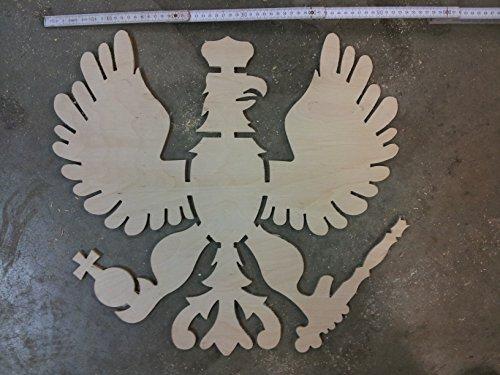 Schützenadler Birkensperrholz 6 mm ca. 54,6 cm mal 49,5 cm