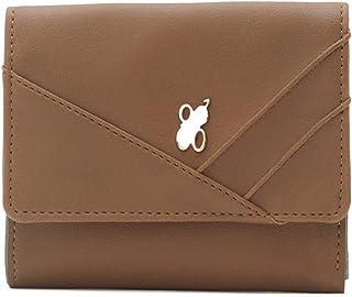 Baggit Autumn-Winter 2020 Faux Leather Women's 3 Fold Wallet (Yellow) (Nancy)