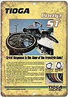 Tioga Comp St Freestyle Bmx ティンサイン ポスター ン サイン プレート ブリキ看板 ホーム バーために