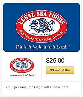 Legal Sea Foods Gift Cards - E-mail Delivery