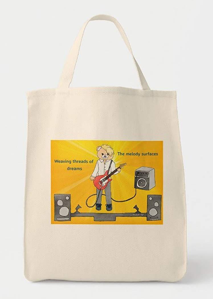 Dedication Guitarist Rock Star Teddy Bear Inspiration and Music Junior Hope New Shipping Free