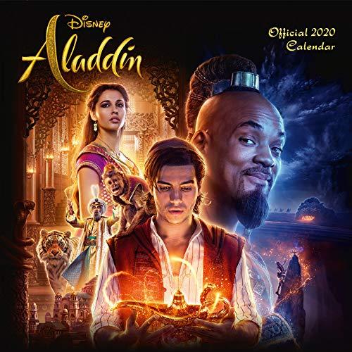 Disney Aladdin 2020 Calendar - Official Square Wall Format C