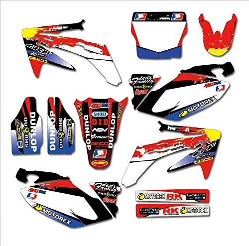 KINWAT Sale item Full Set Sticker Kit Name De Ranking integrated 1st place Customized Graphics Number