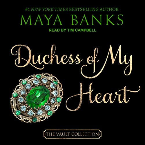 Duchess of My Heart audiobook cover art