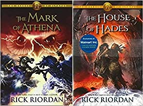 Heroes of Olympus Set: Book 3 & 4 (Mark of Athena & House of Hades) Paper Back