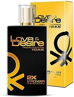 Love & Desire Oro Premium Edition feromonas para mujeres 100 ml Fantastische nuevo Aroma. Ganar bonitas de hombres 4 Phero...
