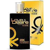 Love & Desire Oro Premium Edition feromonas para mujeres 100 ml Fantastische nuevo Aroma. Ganar bonitas de hombres 4 Pheromones en 1 Perfume... …