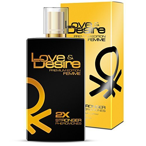 Love & Desire - Gold Edition - Parfums EdT Feromonen voor vrouwen 100 ml Premium