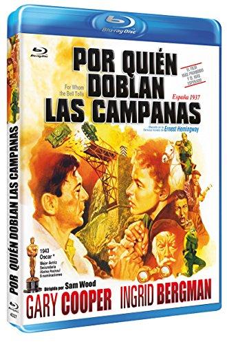 Por Quién Doblan las Campanas BD 1943 For Whom the Bell Tolls [Blu-ray]