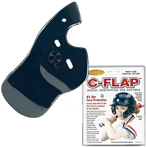 55% OFF New arrival Baseball C-Flap Batter's Helmet Face Attachment Guard Protection