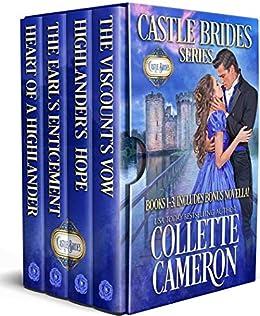 Castle Brides Boxed Set: Books 1-3 by [Collette Cameron]