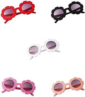 lahomia - lahomia 5 Piezas Gafas De Sol Vintage Flower Para Niños Pequeños