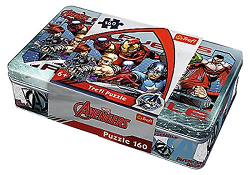 Puzzle w puszce 160 Druzyna bohaterów