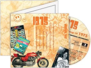 1975 The Classic Years CD Greeting Card : 44th Birthday or 44th Anniversary Memento