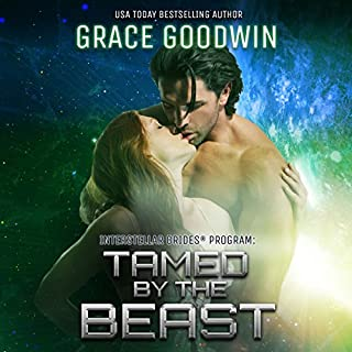 Tamed by the Beast     Interstellar Brides, Volume 7              By:                                                                                                                                 Grace Goodwin                               Narrated by:                                                                                                                                 BJ Pottsworth,                                                                                        Audrey Conway                      Length: 5 hrs and 28 mins     96 ratings     Overall 4.5
