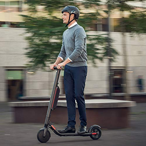 Segway Ninebot ES4 Electric Kick Scooter with External Battery, Lightweight and Foldable, Upgraded Motor Power, Dark Grey