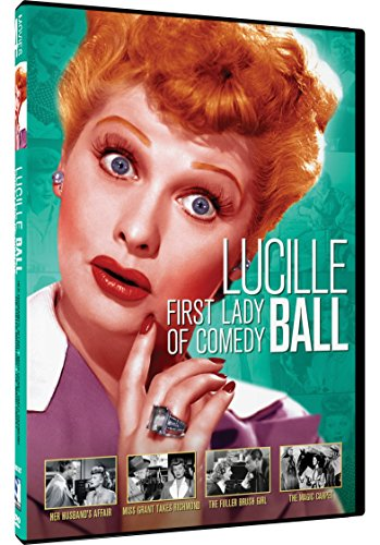 First Lady of Comedy: Lucille Ball Four Pack - Her Husband's Affairs - Miss Grant Takes Richmond - The Fuller Brush Girl - The