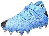 Puma - Future 5.1 Netfit Mxsg, Botas de fútbol Unisex Adulto, Azul (Luminous Blue-Nrgy Blue-Puma Black-Pink Alert 01), 37.5 EU
