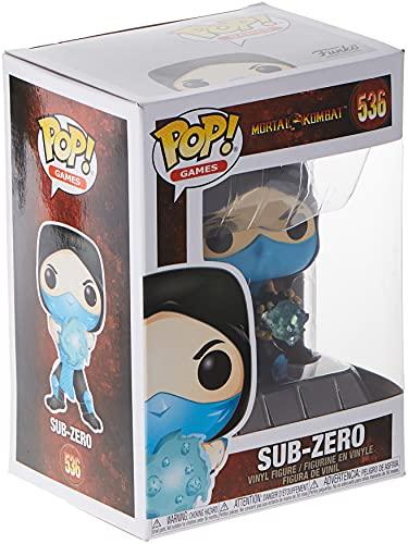 Funko 45109 POP Games: Mortal Kombat - Sub-Zero Collectible Toy, Multicolour