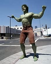 The Incredible Hulk Lou Ferrigno roaring in street muscles green 16x20 Poster
