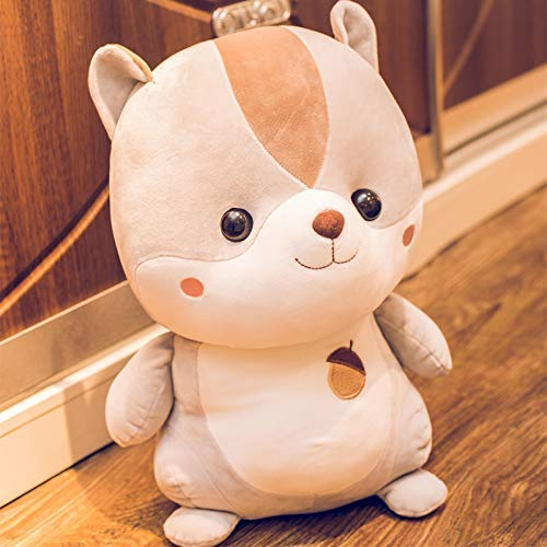 EREL Nettes Hamster Eichhörnchen Schlafendes Kissen Spielzeug Mädchen Geschenk Mädchen Geburtstag Teddy Sweet dedu