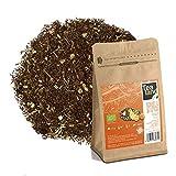 Tealand | Te Rooibos Naranja y Limón | Hojas Sueltas, 100g | Te Ecologico y Natural a granel | Infusion Relajante, Digestiva, sin teína, que ayuda a dormir