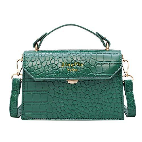 Treslin Fashion Bag Designer Handbags Borse da Donna Pochette da Giorno Piccola Bianca Nera Catena in Oro per Ragazze @ Verde