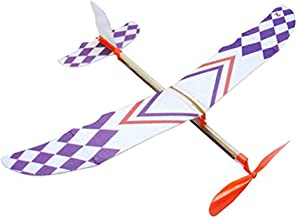 Rubber Band Elastic Powered Flying Glider Plane Airplane Model DIY Toy For Kids Useful and Practical