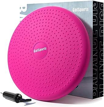 GalSports Home Exercise Wobble Cushion Core Balance Disc