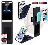 Hülle für Oppo R7 Plus Tasche Cover Case Bumper | Blau |