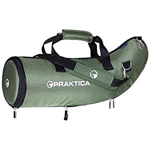 Praktica 65 - 80 mm Spotting Scope Case for Hydan, Alder and Highlander - Green