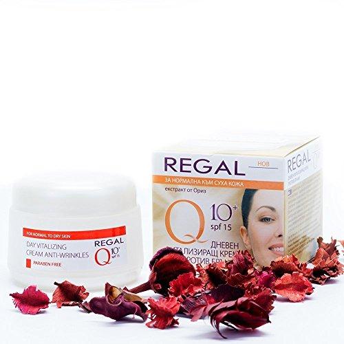 Regal Q10+ Crema de Día Revitalizante Antiarrugas Piel Normal a Seca SPF 15