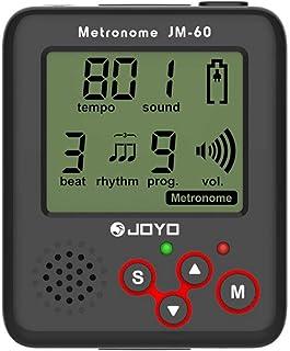 Zither Tuner JM-60 Piano Tuner Drum Guitar Tuner Charging Metronome Tuner Kit 1 Set (jm-60 Mini, Black)