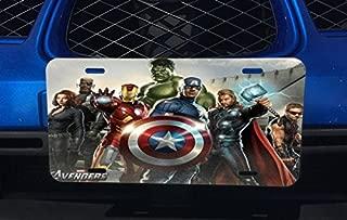 Comic Book Hero Aluminum License Plate for Car Truck Vehicles