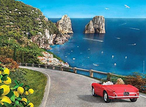 SiJOO Puzzle 39357 Capri Romantico 1000 Pezzi
