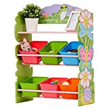 Fantasy Fields by Teamson TD-12245AR Magic Garden Toy Organizer, rosa, Rose