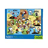 AQUARIUS Peanuts Baseball Puzzle (500 Piece Jigsaw Puzzle) - Officially Licensed Peanuts Merchandise & Collectibles - Glare Free - Precision Fit - Virtually No Puzzle Dust - 14 x 19 Inches